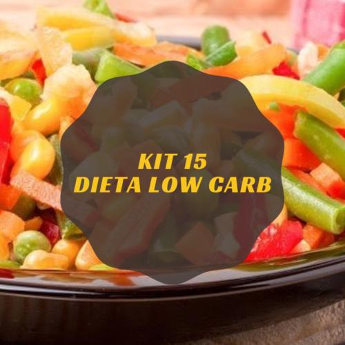 Dieta Low Carb – Kit 15
