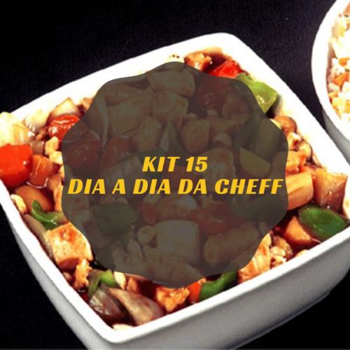 Dia a Dia da Cheff – Kit 15